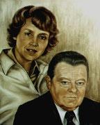F.J.Strauß mit Marianne