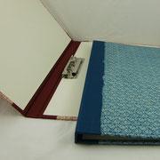 Klemm-Mappe mit festem Rücken
