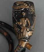 AMSTERDAMSCH WELVAREN in tekstlint, Neptunus en Mercurius, DK