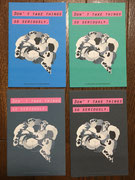 ポストカード グループ展猫展4 出品作品「理想」より 2017
