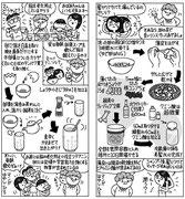 生活の知恵 卵茶スープ 卵の皮リンス