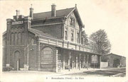 La gare de Bouchain dans son état d'origine. (Coll. part.)