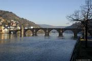 Die Rückfahrt bescherte uns einen Aufenthalt in Heidelberg.