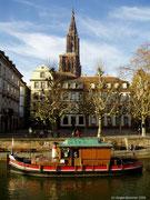 Die Ile und der Münster....die Wahrzeichen Strasbourgs.