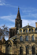 Egal an welcher Stelle der Altstadt man sich befindet...der Münster thront über allem.