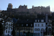 Das Wahrzeichen Heidelbergs....das Schloss.