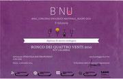 Ronco dei Quattroventi - 3° Concorso Enlogoico B'Nu - Sardegna