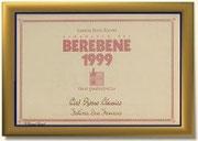"""BEREBENE 1999 AL """"CIRO' ROSSO CLASSICO"""" FATTORIA SAN FRANCESCO"""