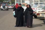 Der Niqab (oder auch Hidschab) ist traditionell vor allem auf der Arabischen Halbinsel verbreitet, wird u.a. aber auch in Ägypten getragen, hier allerdings schon ohne Gesichtsschleier!
