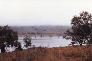 Am Murray Valley HWY der Hume Lake bei Wodonga