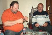 Udo und Addel beim Briefmarkentausch!