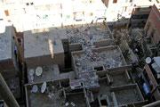 Das Chaos wird bei diesem Bild, direkt unter unserem Hotelzimmer, so richtig sichtbar!