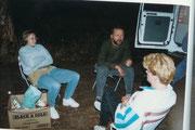 Erste Nacht im Bushcamper an einem Roadhouse nördl. von Perth.
