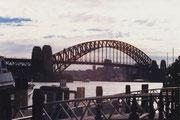 Die Harbourbridge (auch Kleiderbügel genannt) in Sydney
