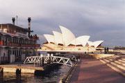 Das Opernhaus von Sydney in seiner ganzen Pracht