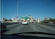 Stadteinfahrt Winnipeg
