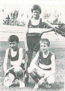 Starke 3x1000m Staffel: Thomas Gaipl, Karl Krebs und Christian Eberhardt