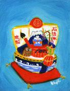 七符來福船 【石清水八幡宮/京都府、八幡市男山】