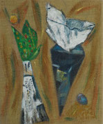 Mokkatütchen   50 x 40   2009
