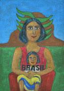 Cafè Brasilia  90 x 65   2016