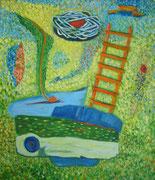 Himmelseiter    75x85, 2004