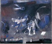 02. Flugstunde für Engel, 1988, 70x50 cm