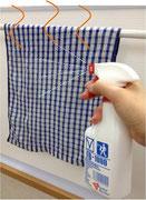 布巾・雑巾の雑菌抑止