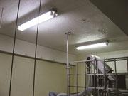 塗装完成後、照明をLEDへ交換して、相乗効果!