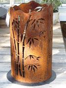 Bambus. Lichtsäule
