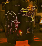 Afrika, Feuerkorb