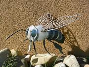 Biene Helga, Chromstahl und Schwazstahl