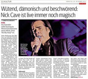 24.11.2013 - Nick Cave & The Bad Seeds (Quelle: kurier.at)