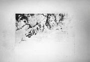 Abschied  -   Tapetenreste an der Wand der Galerie Silberblick, 1997 Berlin
