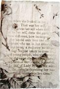 Daily Home  -   Texte auf Papiersackerln, London 1999