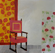 2014 Venedig Roter Stuhl (95x100)