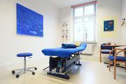 Behandlungsraum z.B. für Manuelle Therapie - PhysioTherapie Bandi, Luitpoldstr. 11, 96052 Bamberg