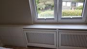 Fensterbank mit Heizkörperverkleidung