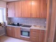 Küche mit Fronten in Massivholz in Aumühle