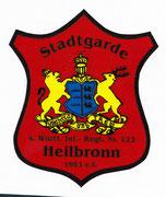 Wappen der Stadtgarde Heilbronn