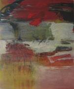 o.T., 2009, Mischtechnik auf Leinwand, 120 x 100 cm