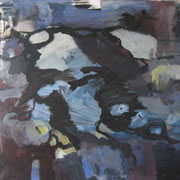 o.T., 2008, Acryl auf Leinwand, 90 x 90 cm
