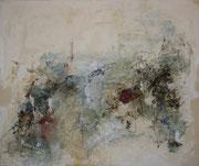 o.T., 2001, Mischtechnik auf Leinwand, 100 x 120 cm