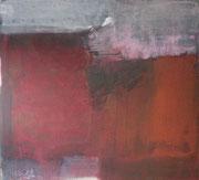 o.T., 2008, Mischtechnik auf Leinwand, 90 x 100 cm