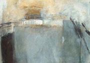 o.T., 2000, Mischtechnik auf Leinwand, 70 x 100 cm