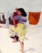 La danseuse, 40x50 cm, 2013, Oel auf Leinwand