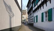 Blick vom Martin Luther Hof zum Markt