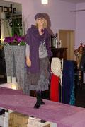 Silvia hier in der angesagten grau/lila Variante