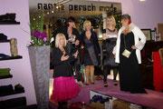 Hier auf einem Blick,, Martina, Linde, Silvia und Karin