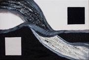 """""""In Between""""          Acryl     40 x 60 cm"""