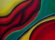 """Symbiose""          Öl     50 x 70 cm"